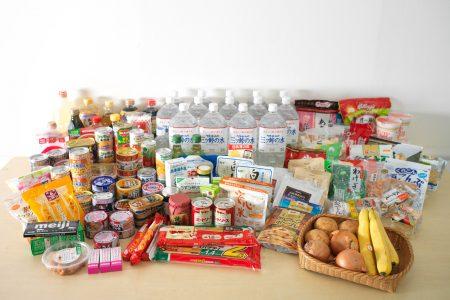 大規模災害に備える1週間分の食料備蓄例 ~家庭でできる防災対策 ...