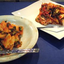 金輝子さんに習う韓国冷麺とキムチ