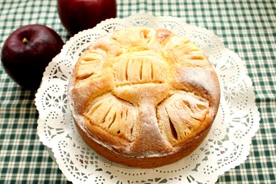 たにあさんに習うりんごのケーキ