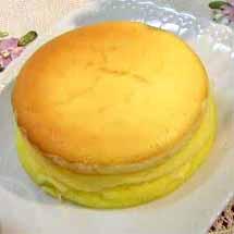 パティシエに習うスフレチーズケーキ