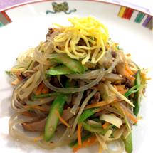理順先生に習う春野菜のチャプチェ