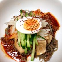夏の韓国料理教室「元気になるビビン麺」