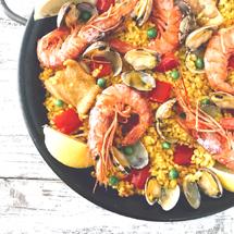 スペインの家庭料理を習う