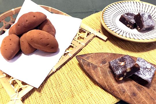 秋の和菓子でお茶時間