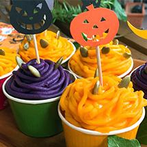 かぼちゃのモンブランでハッピーハロウィン