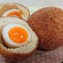 大人のショコラパン「ショコラデニッシュ」とトロトロ半熟卵の「煮卵パン」