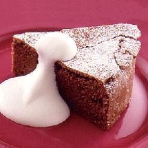 チョコ好きにはたまらない至福の味 ガトーショコラ