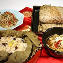 理順先生の韓国料理教室 蓮の葉ごはんでおもてなし