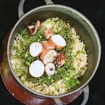 三軒茶屋ビストロRIZOのシェフに習う 春のフレンチ鍋炊きごはん