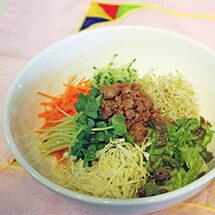 理順先生の韓国料理教室 野菜で元気!サラダ風ビビンバ
