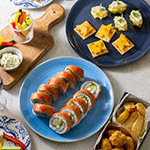 「世界のチーズ料理」4月分
