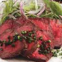 和風ローストビーフと冬野菜のゆずみそ添え