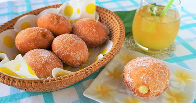 さっくりふわふわ、ハワイのドーナッツ!マラサダを作ろう♪