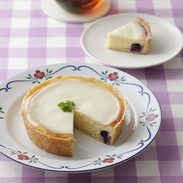 ダブルチーズケーキ「お菓子の会」6月分