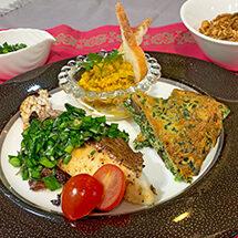 Repas de Maria のペルシャ(中東)家庭料理