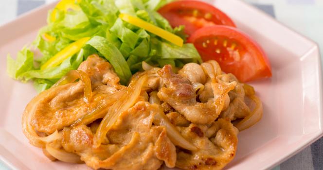 <オンラインお料理入門シリーズ#06>豚肉のしょうが焼き・ツナとチーズのポテトサラダ