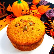 【ハロウィン企画】<br>かぼちゃのケーキ